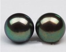Tahtian Black Pearls - aka dyed freshwater pearls from China
