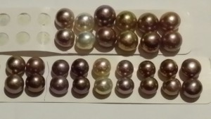 natural colours pearls