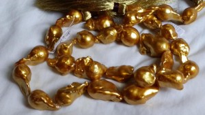 dyed gold fireballs