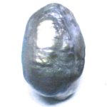 freshwater hollow blue pearl